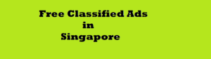 free classified ads in Singapore