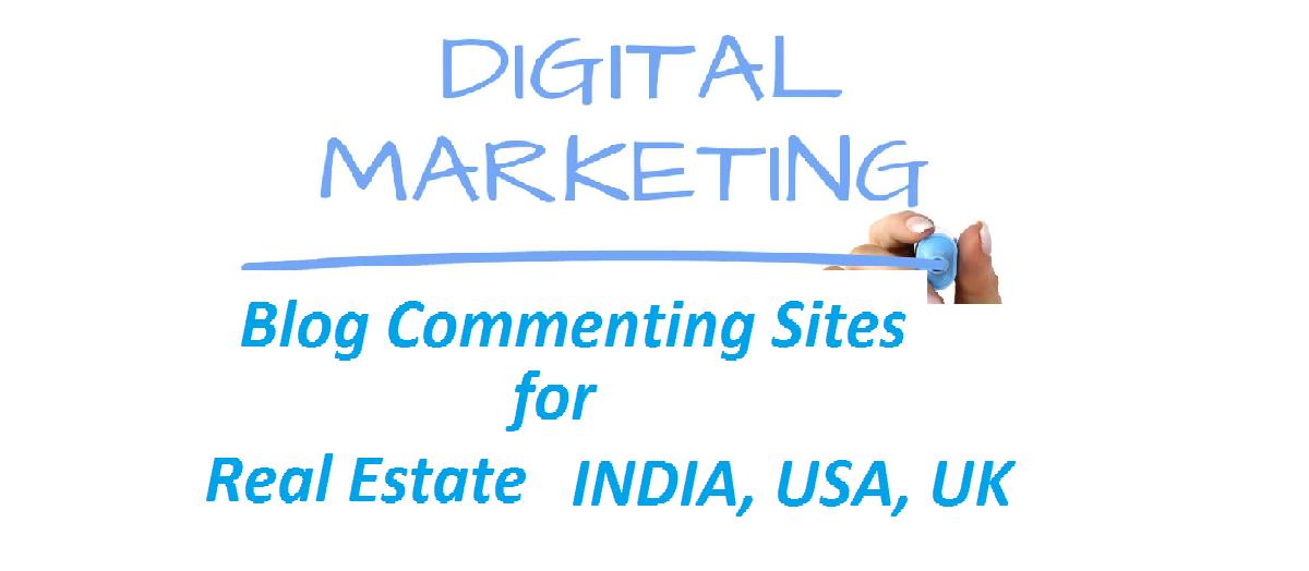 blog commenting sites for real estate