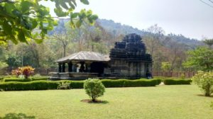 Tambdi Surla Temple and Waterfalls