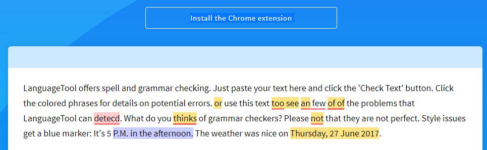 Free Grammar Checker for Essays