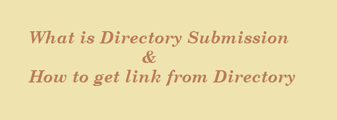 How to submit your Website in Directory Submission