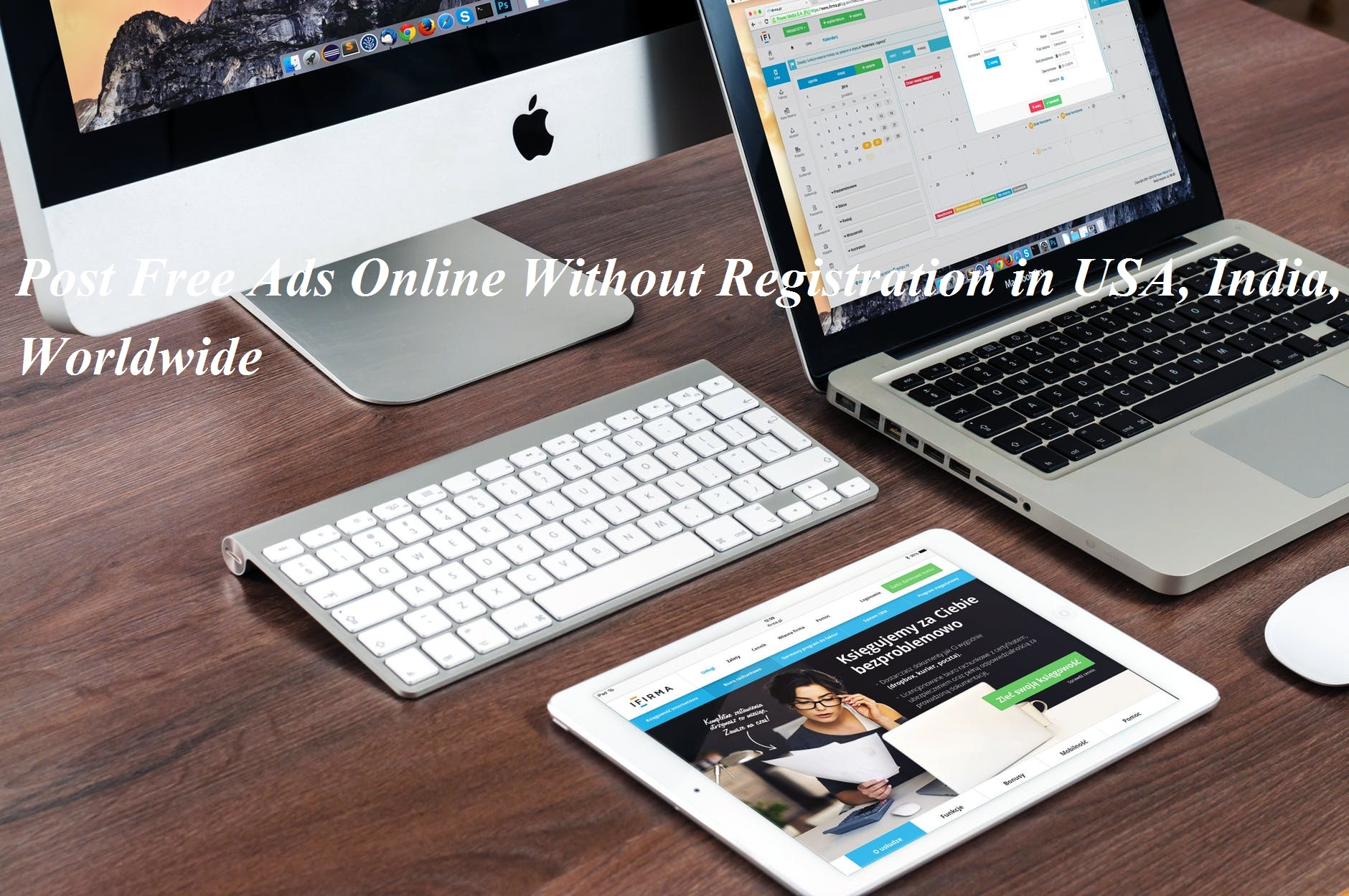 Post Free Ads Online Without Registration