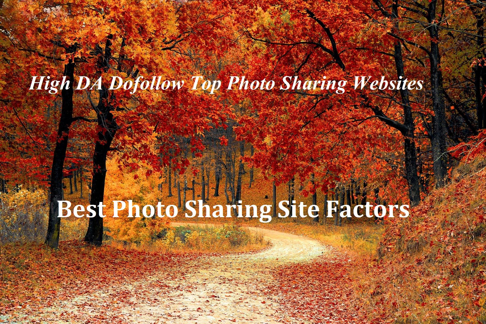 Top Photo Sharing Websites