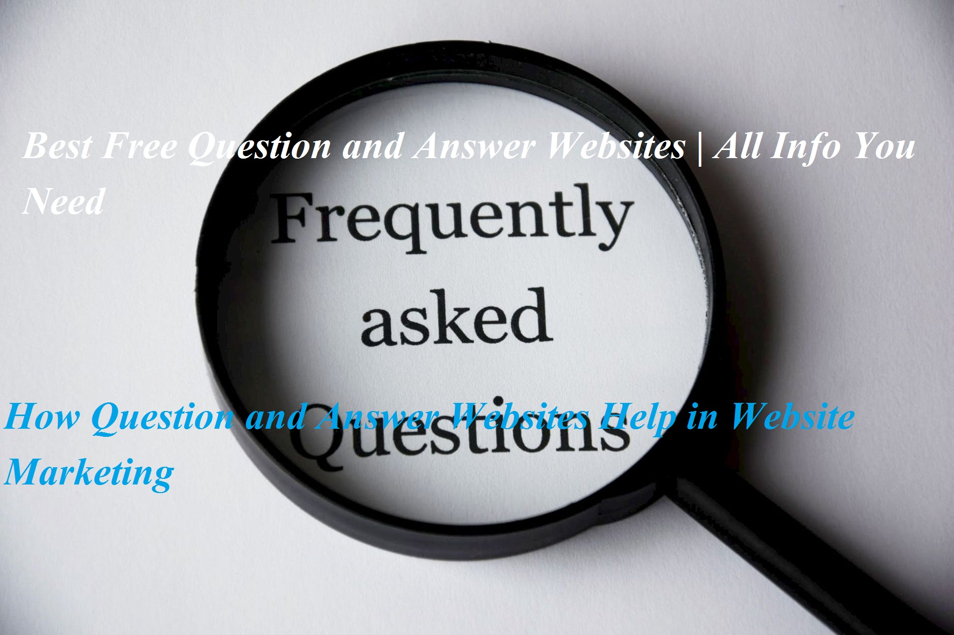 Free Question and Answer Websites