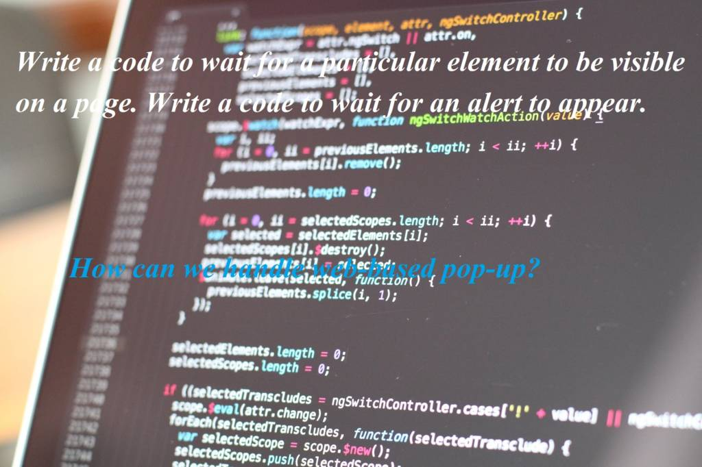 Selenium Automation Testing Interview Questions and Answers for Experienced