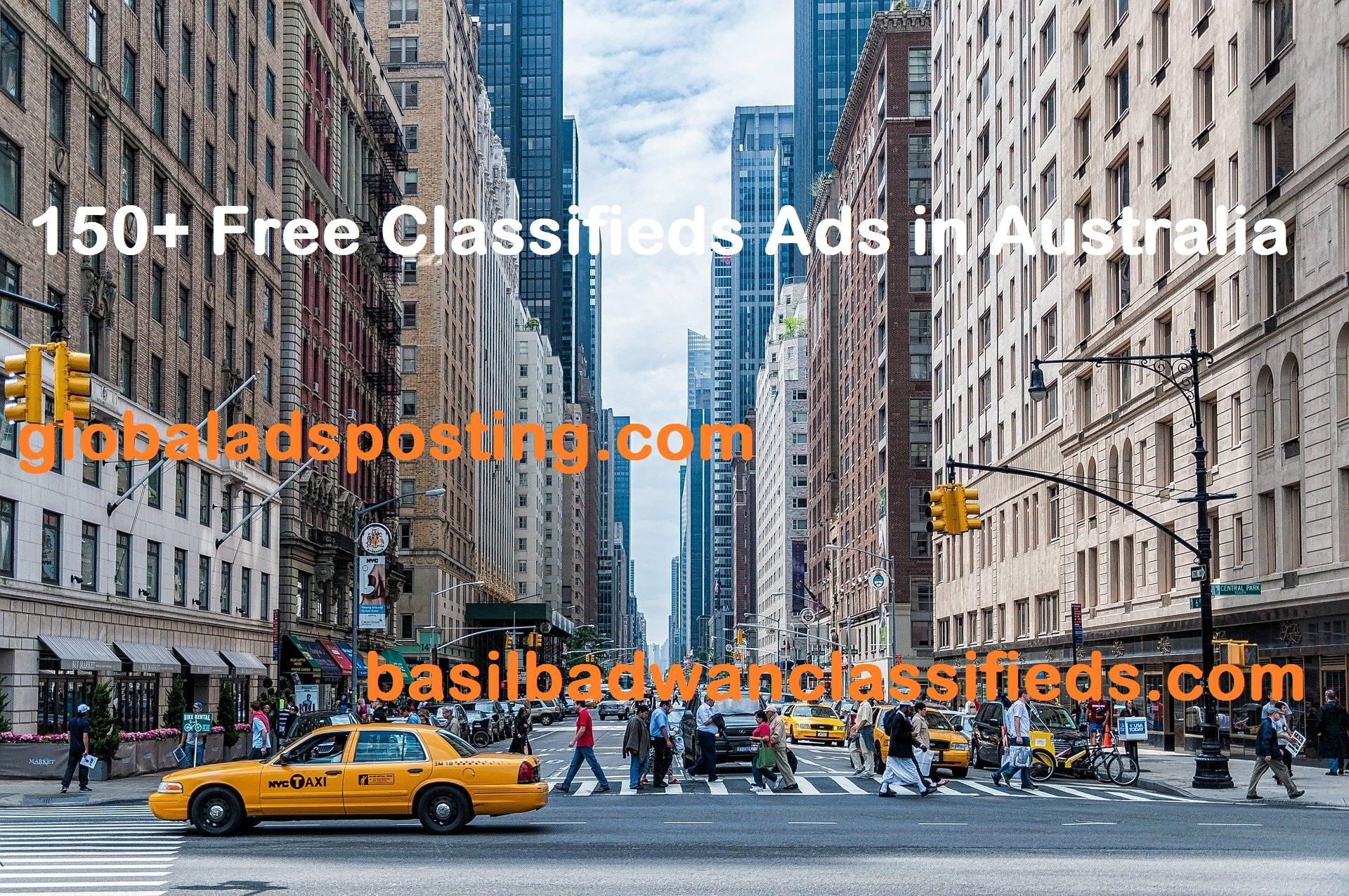 Free Classifieds Ads in Australia
